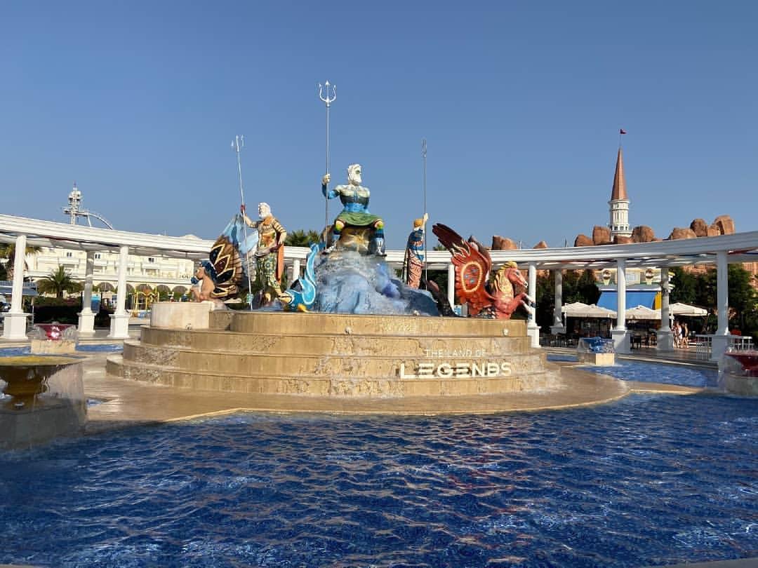 аквапарк the land of legends из кемера
