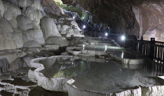 Подземное Памуккале