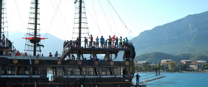 яхт тур в кемере